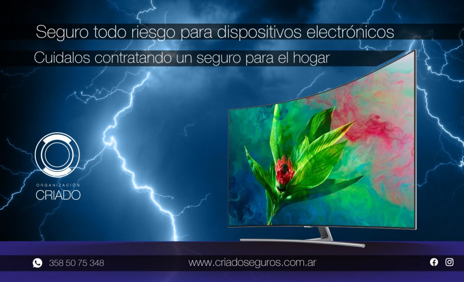 seguro dispositivos electrónicos